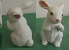 Vintage Lefton White Rabbit Figurine 1985 New