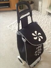 FOLDING SHOPPING TROLLEY WITH WHEELS, LIGHT WEIGHT, WATER PROOF, NEW!