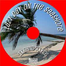 Relax to Natural Sounds of  a Day On The Seashore Audio CD, No music just Nature