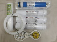 For RO Water Filter 1 Year Service Kit+75 GPD Vontron Membrane + 1 Kemflo Spun