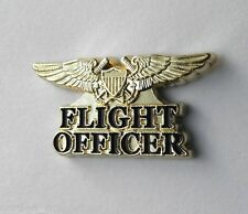 USN NAVY FLIGHT OFFICER WINGS LAPEL PIN BADGE 1.25 INCHES