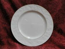 Noritake Halls of Ivy, 7341, Ivory w/ Raised Leaves: Salad Plate (s), 8 5/8""