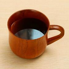 Wooden Cup Primitive Handmade Natural Wood Drinking Coffee Tea Beer Camping Mug