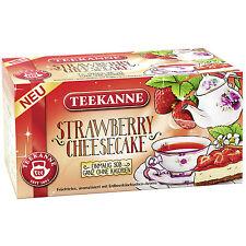 Teekanne Strawberry Cheesecake - 20 tea bags- Made in Germany-