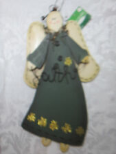 """Angel Holiday Inspirations """"Faith"""" Christmas Religeous Decoration Good all Year!"""