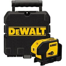 DEWALT DW085K Self Leveling 3-Beam Cot Plumb & Level Laser Pointer w/Case *NEW*