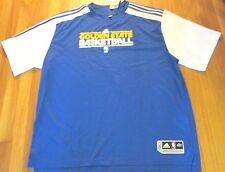 ADIDAS NBA AUTHENTIC GOLDEN STATE WARRIORS SHOOTING SHIRT JERSEY SIZE 4XLT