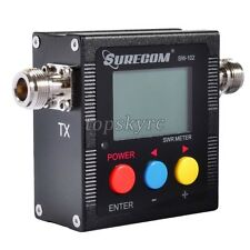 Surecom SW-102 125-525Mhz Digital VHF/UHF Antenna Power SWR Meter 2-Way Radio