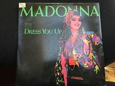 """MADONNA DRESS YOU UP 12"""" 1985 SIRE 20369-0"""