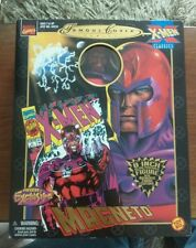 FAMOUS COVERS MAGNETO DOLL action figure BOXED MARVEL TOY BIZ 2000