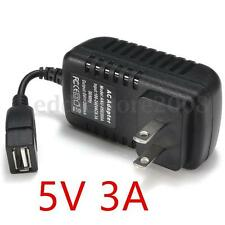 5V 3A 3000mA USB Charger Adapter Power Supply US Pulg for Mobile Phone Tablet PC
