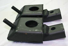 1966-69 LINCOLN CONVERTIBLE TRANSMISSION TRANS MOUNTS MOUNT NEW PAIR C8VY-6068-A