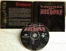 Bathory - In Conspiracy With Satan CD DIGI unanimated lord belial the abyss war