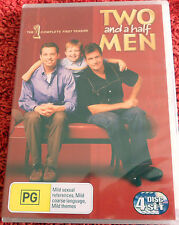 DVD. Two and a half men / the 1 complete first season / (PG) / 4 disc set / Reg4