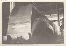 ORIG. foto circa 8x6cm 2c2 s5 stromlinienlok delle Ferrovie Nord BW Chapelle (g285)