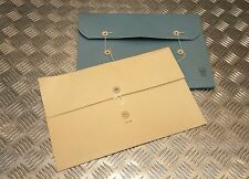 Genuine British HMSO Document Folders Used By The British Military & Home Office