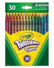 Crayola TWISTABLES Colored Pencils 30 Twistable colored Pencils 68 7904