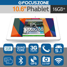 "CUBE Talk11 10.6"" IPS 3G Tablet PC Phone Android 5.1 Quad Core 16GB Dual SIM 5MP"