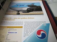 Airlines Archiv Südkorea Korean Air eine größten Südostasiens 8S