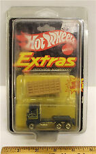 Vintage 1984 Hot Wheels Extras Ford Stake Bed Truck Diecast Metal # 4018 NOC
