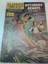 Classics Illustrated WUTHERING HEIGHTS #59 MAY 1949 COMIC See Description