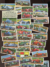 "PETPRO LTD 1962 SET OF 35 ""GRAND PRIX RACING CARS"" TRADE CARDS"
