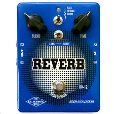 Biyang RV12 6-Mode Reverb Guitar Effects Pedal For Stage Or Recording RV-12