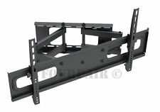 Heavy Duty Dual Arm Articulating LCD LED TV Wall Mount 43 49 50 55 58 60 65 70""