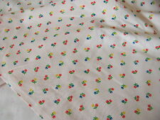 Small Print Small Wale Light Peach Salmon Color Corduroy  2 yards 44 wide