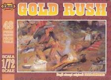 ATL-018 Nexus Western Gold Rush Figures and Mules Plastic Set 1:72 New & Boxed