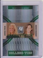 2007 DONRUSS ELITE JENNIE FINCH / AMANDA BEARD CARD /1500 OLYMPICS UOFA SOFTBALL