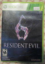 Xbox 360 Resident Evil 6 (Manual, box and game)