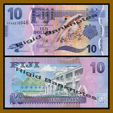 Fiji 10 Dollars, 2013 P-New Unc