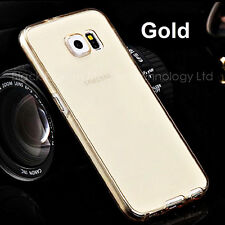 For Samsung Galaxy Ultra Slim Shockproof 360° Protective Clear Gel Case Cover