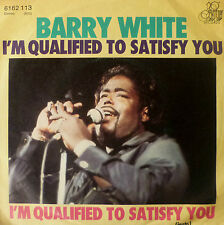 """7"""" 1976 BARRY WHITE I´m Qualified To Satisfy You MINT-?"""