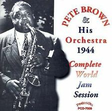 BROWN,PETE: Complete 1944 World Jam Session  Audio CD