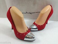 CL Chinese Laundry Red High Heel Pumps Spike Shoes Womens Size EU 40 US 9 M