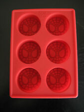 SPIDERMAN SILICONE BIRTHDAY CAKE CHOCOLATE MOLD ICE TRAY  USA SELLER Free Ship