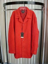 Syllables Men's HIGH FASHION Wide Wale CORDUROY RED! New w/ TAG JACKET XXL #600