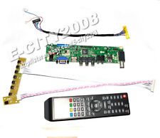 TV/HDMI/VGA/AV/USB/AUDIO lcd controller Board for 10inch HSD100IFW1 1024*600 LCD