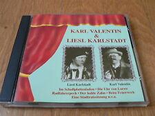 Karl Valentin & Liesl Karlstadt - Zyx Music - 1996 - CD