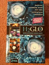 H2GLO WATER ACTIVATED FLOWER LIGHTS 2 PACK PINK COLORED