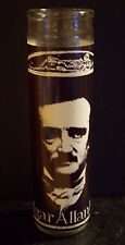 EDGAR ALLAN POE Raven Author Poet Prayer Altar Church Candle120 Hours Allen