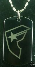 FAMOUS STARS AND STRAPS #2 DOG TAG PENDANT NECKLACE