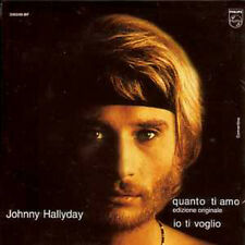 ☆ CD SINGLE Johnny HALLYDAY Quanto ti amo 2-track Ltd NEUF ☆
