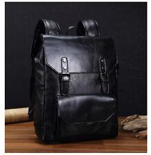 Vachette sacoche sac à dos cartable femme homme en Cuir Noir