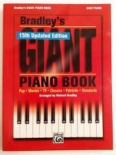 Bradley's Giant Piano Book Easy Piano 15th Updated Edition