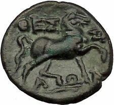THESSALIAN LEAGUE Larissa 2nd – mid 1st cent Ancient Greek Coin ATHENA i53248