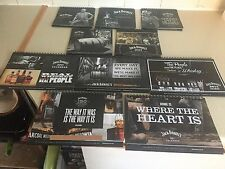 SET OF JACK DANIELS DESKTOP CALENDARS FROM 2008 TO 2017