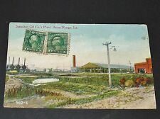 CPA POSTCARD USA 1917 STANDARD OIL COMPANY'S PLANT BATON ROUGE